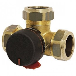 Переключающий/Отводной клапан Esbe VRG233-20-4, компрессионный фитинг