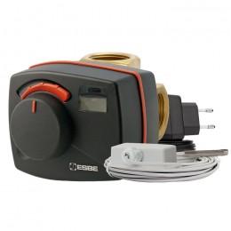 Комплект клапан поворотный VRG131 20-6.3 и контроллер CRC111
